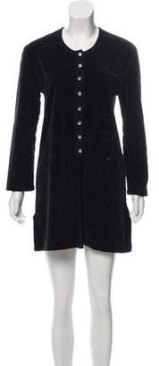 Sonia Rykiel Patterned Velvet Dress
