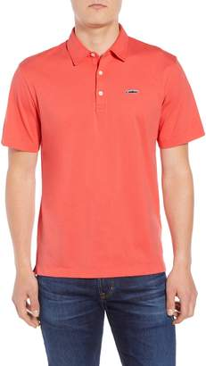 Patagonia 'Trout Fitz Roy' Organic Cotton Polo