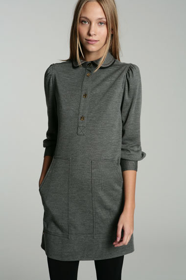 Luella Mabel Military Jersey Dress