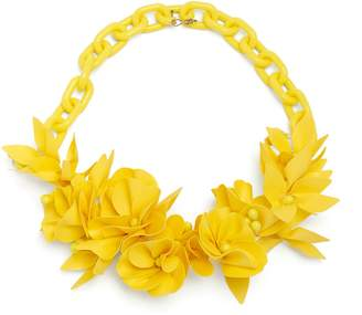 Yellow flower necklace shopstyle com isabel marant honolulu flower necklace mightylinksfo