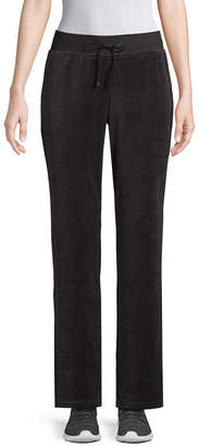 ST. JOHN'S BAY SJB ACTIVE Active Relaxed Fit Velour Pull-On Pants