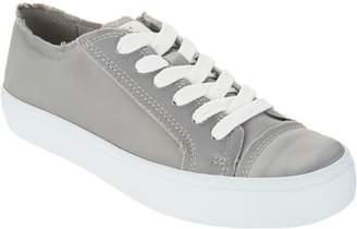 ED Ellen Degeneres Sateen Lace-up Platform Sneakers- Dorin
