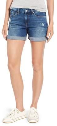 Mavi Jeans Marla Ripped Cutoff Denim Shorts