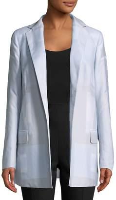 Akris Women's Open Front Cotton Jacket