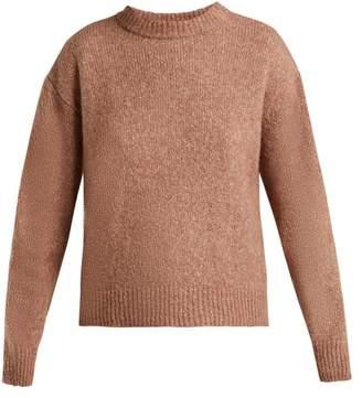 Masscob Ines Alpaca Blend Sweater - Womens - Light Pink