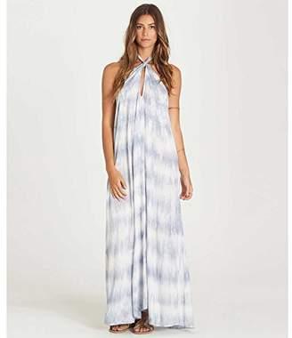 Billabong Women's Skys The Limit Halter Maxi Dress