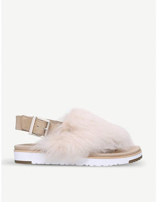 UGG Holly sheepskin sandals