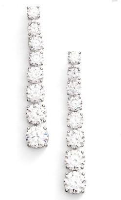 Women's Nadri Graduated Linear Drop Earrings $70 thestylecure.com