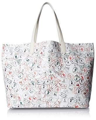 Yarnz Women's Passport Leather Tote Bag