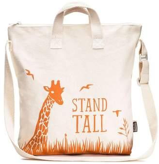 Mamoo Kids Steady Giraffe Kids Zipper Tote Bag