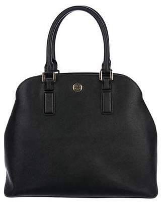 Tory Burch Leather Dome Handle Bag