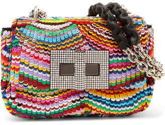 Tom Ford Natalia Mini Sequined Leather Shoulder Bag - Multi