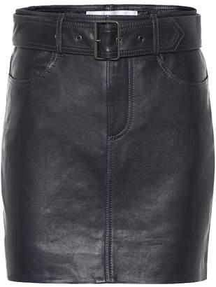 Victoria Victoria Beckham Leather miniskirt