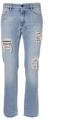 Fendi Distressed Jeans