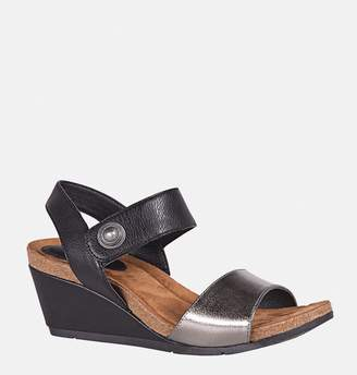 bab23e43f4ec Avenue Sybil Two Tone Wedge Sandal