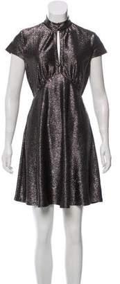 Just Cavalli Metallic Knee-Length Dress
