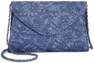 Adrianna Papell Seta Lace Small Envelope Clutch