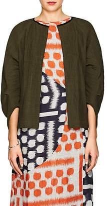 Zero Maria Cornejo Women's Beetle Cotton-Blend Shrug Jacket