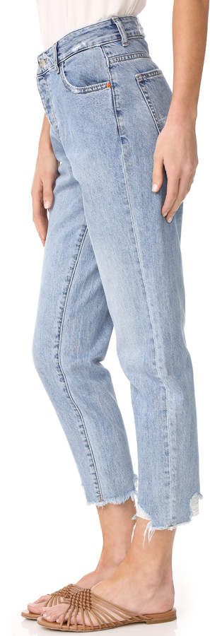 DL1961 Goldie High Rise Tapered Jeans 3
