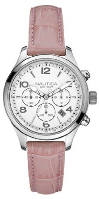 Nautica Women's N15507M BFD 101 Silver Dial Watch $89.99 thestylecure.com