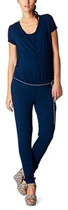Noppies Women's Jumpsuit ss Chloe 702 Maternity Dungarees Midnight Blue C3, (Size: M)