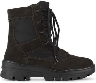 cc54969e06ca0 Yeezy Lace up combat boots