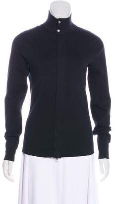 Ralph Lauren Black Label Mock Neck Zip Sweater