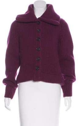 Marc Jacobs Wool & Cashmere Knit Cardigan