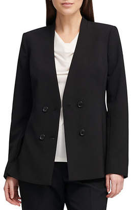 Donna Karan Classic Double-Breasted Jacket