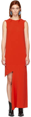 Maison Margiela Orange Cady Dress