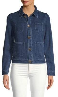 AG Jeans Collared Denim Jacket