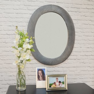 Carolina Chair and Table Edenton Oval Textured wall Mirror