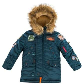 Alpha Industries N-3B Maverick Faux Fur Water Resistant Parka