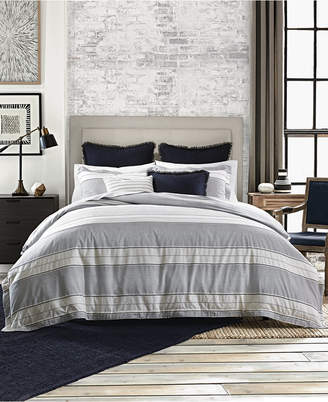 Tommy Hilfiger Laurel Cotton Reversible Dobby 2-Pc. Twin Duvet Set Bedding