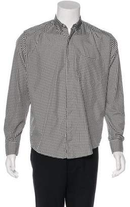 Our Legacy Gingham Woven Shirt