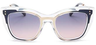 Valentino Women's Square Sunglasses, 50mm