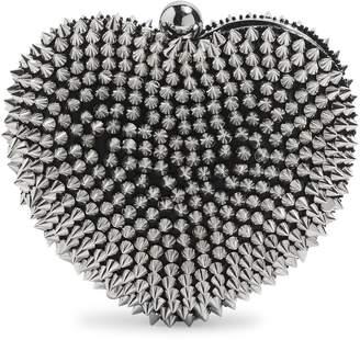 Topshop Spike Stud Heart Box Bag
