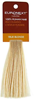 Euronext Clip In True Blonde Human Hair Swatch