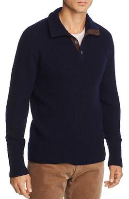 Bloomingdale's The Men's Store at Mock Neck Cardigan