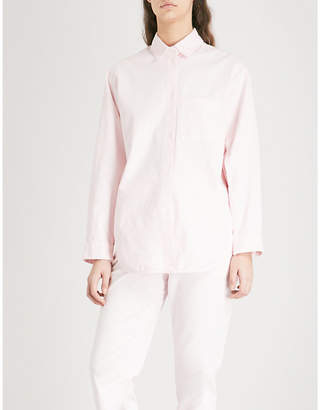 Maje Chilo stretch-cotton shirt