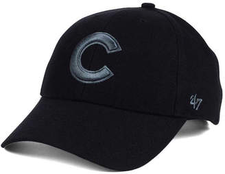 '47 Chicago Cubs Mvp Black and Charcoal Cap