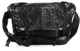 Bao Bao Issey Miyake Geometric Paneled Rider Messenger Bag