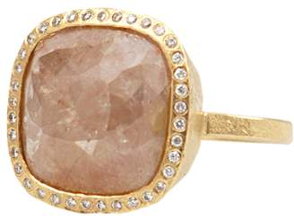 Todd Reed Pink Fancy Diamond Cocktail Ring
