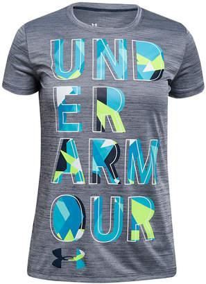 Under Armour Big Girls Logo-Print T-Shirt