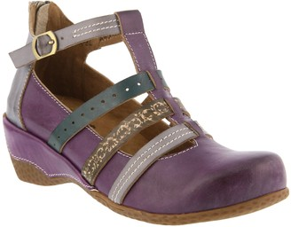 Spring Step L'Artiste by Leather Mary Janes - Yulianna