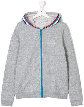 Little Marc Jacobs ribbon stripe hoodie
