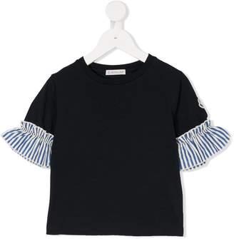 Moncler ruffle cuff T-shirt