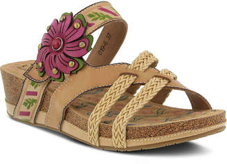 Spring Step L'Artiste by Deonna Wedge Sandal - Women's