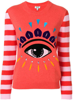 Kenzo eye printed jumper