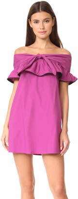 Line & Dot Lorena Off the Shoulder Dress $87 thestylecure.com